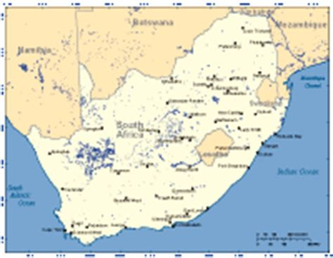 south africa digital vector maps download editable