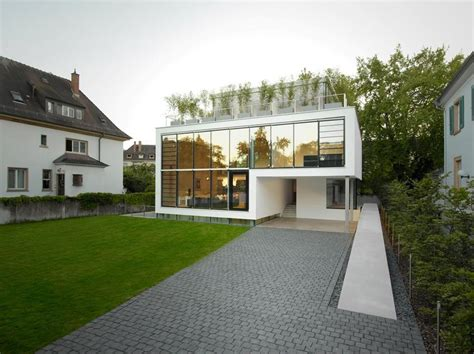 house design ideas with terrace energy optimized house with roof terrace louver windows