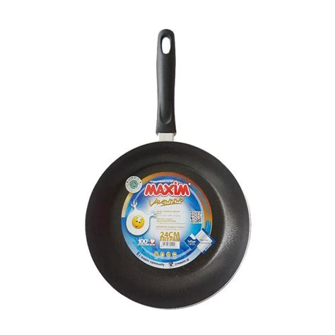 Teflon Maxim Berbagai Ukuran jual maxim frying pan teflon 24 cm harga