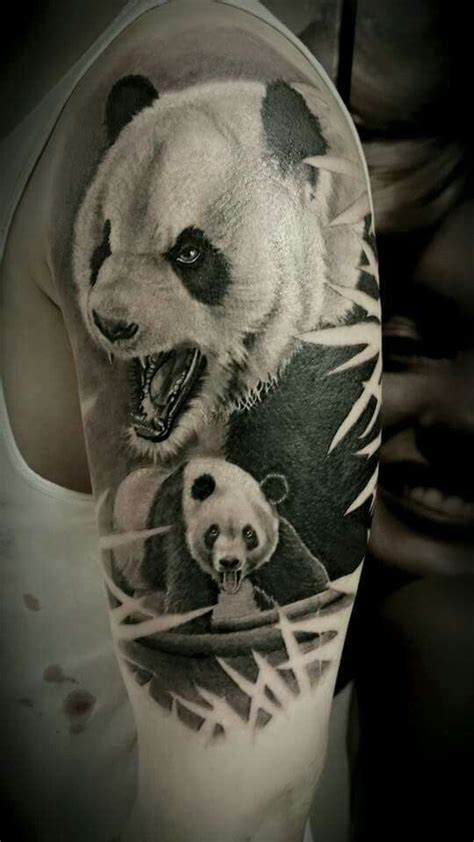 panda tattoo realistic 363 best panda tattoos images on pinterest