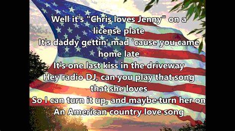 country music lyrics i love you joe jake owen american country love song lyrics youtube