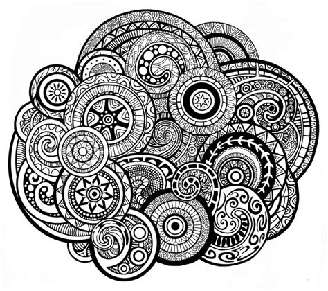 circle swirls pattern by zyari on deviantart