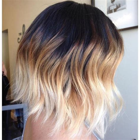 ombre for shorter hair 25 best ideas about ombre short hair on pinterest short