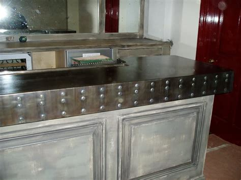 Bar Top Finishes by Zinc Bar Tops Custom Zinc Products