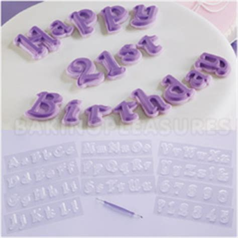 Wilton Edible Letters