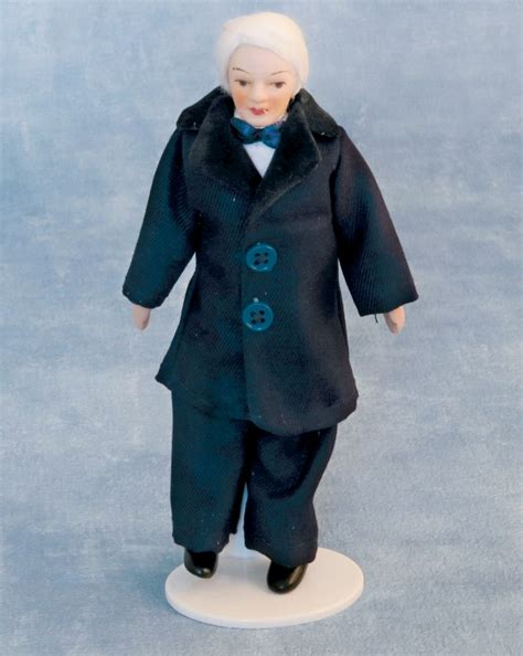1 12th scale porcelain doll kits porcelain grandfather 12th scale for dolls house