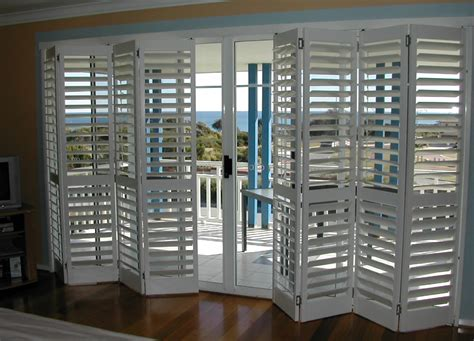 Bifold Shutters Over Sliding Glass Doors Shutters Shutters On Sliding Patio Doors