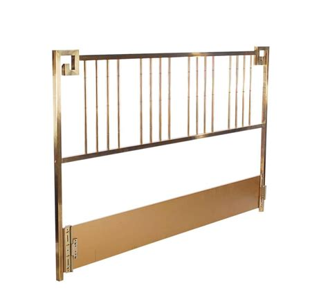 King Brass Headboard Brass King Size Headboard By Mastercraft For Sale At 1stdibs
