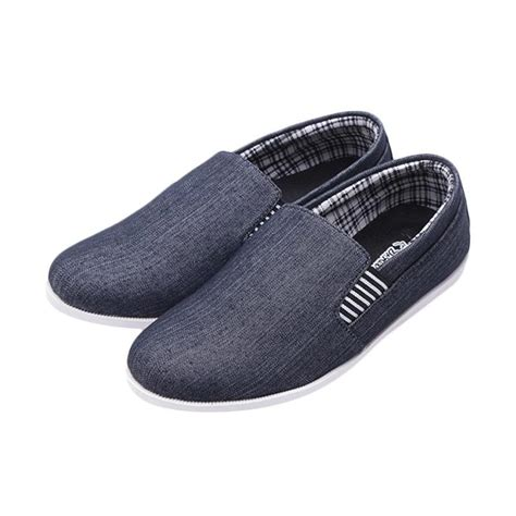 Dr Kevin Canvas Shoes 13195 Navy jual dr kevin canvas shoes 13195 sepatu pria black