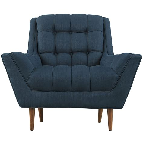 Navy Blue Armchair by Hued Armchair Modern Furniture Brickell Collection