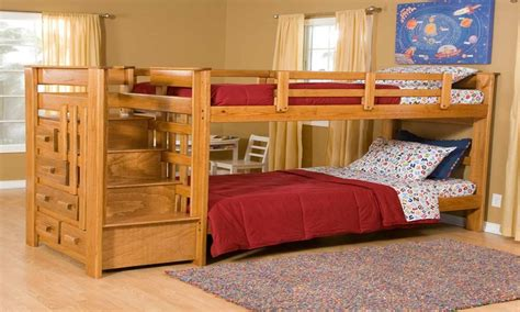 Bunk Beds With Slides Cheap Space Saving Staircase Design Bunk Beds With Stairs Cheap