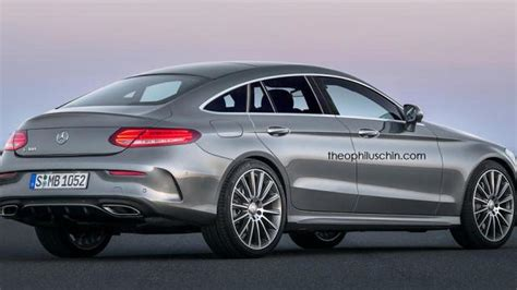 mercedes clc coupe mercedes clc four door coupe rendered based on c