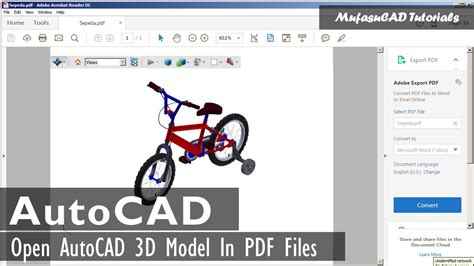 bentley view v8i autocad 3d view in pdf with bentley view