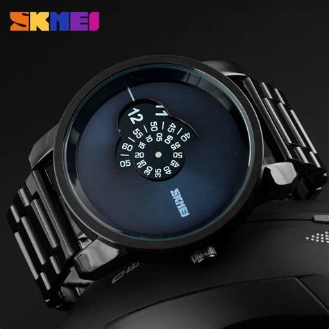 Jam Tangan Pria Skmei 7180 skmei jam tangan analog pria ad1171 black