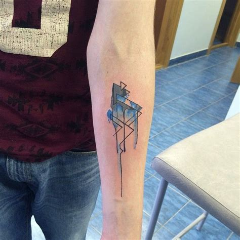 geometric triangle tattoo 17 best ideas about triangle meanings on