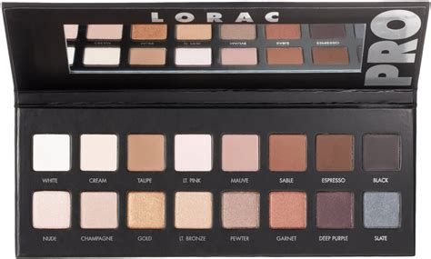 Lorac Pro Palette 3 Eyeshadow Makeup We4 best eye shadow palettes for beginners you put it on