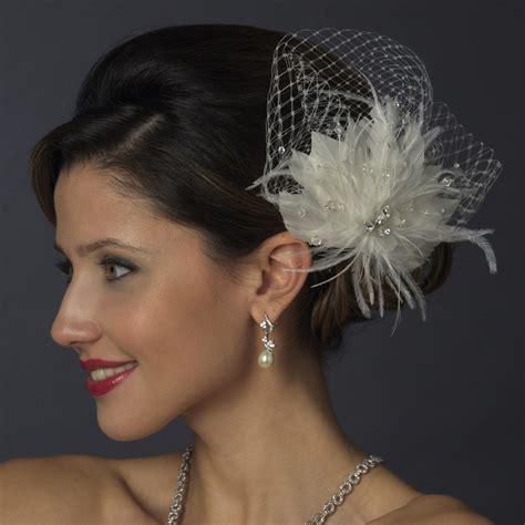 Wedding Hair Accessories Fascinators by Birdcage Veils Fascinators A Beautiful