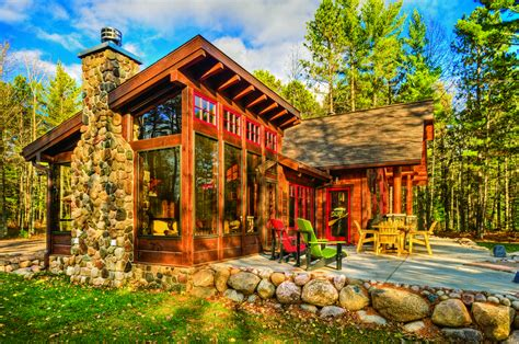 small vacation ideas a cabin up north