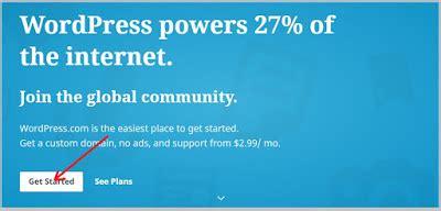cara membuat blog di wordpress bagi pemula cara membuat blog di wordpress bagi pemula sinau komputer