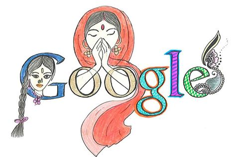 doodle for india 2013 photos doodling india s india real time wsj