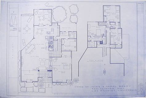 the real brady bunch house floor plan brady bunch floor home of mike and carol brady by mark bennett presented by