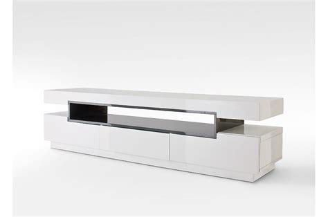 Meuble Blanc Gris meuble tv design blanc gris laqu 233 pour meuble tv