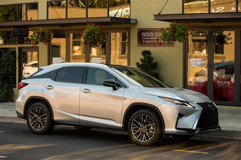 lexus rx 350 f sport 2016 2016 lexus rx detailed in the us through 137 new photos