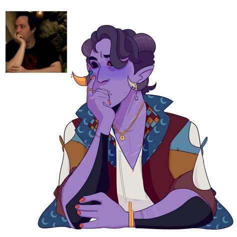 fjord x mollymauk vain vaihe on critical role fanart pinterest