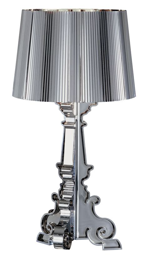 Kartell Bourgie Table L Bourgie Chrome Table L Chromed By Kartell