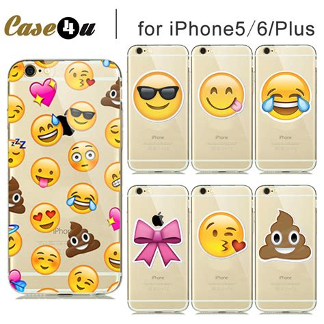 Best Seller For Iphone 6 6s Plus Smiley silicone phone for capinhas iphone 5 se 5s 6 6s 6 6s plus emoji cases smiley