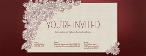 Electronic Invitation Card Template by 7 Best E Card Maker For The