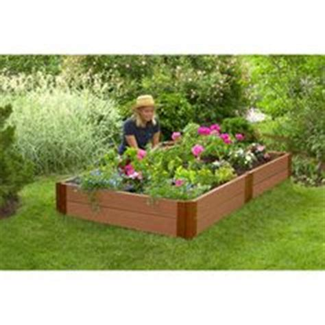 white vinyl raised garden bed 2 pack costco 189 99