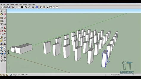 google sketchup wardrobe tutorial google sketchup tutorial 4 componente grupuri array