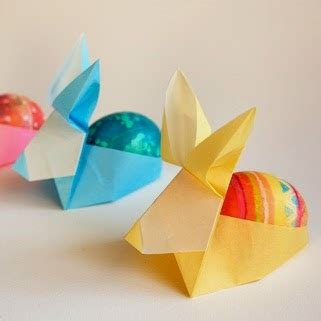 How To Make An Origami Easter Egg - origami easter egg holders