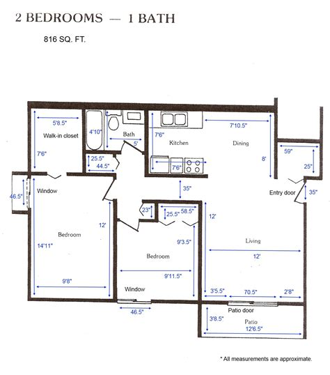 2 Bedroom Apartment Design Layouts Cedar Green Apartments Apartment Layouts