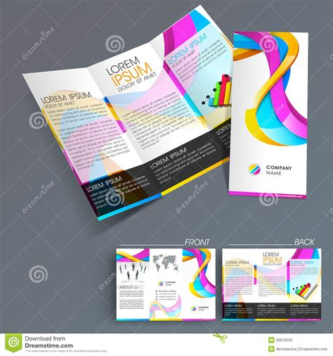 3 fold flyer template free apartment caretaker cover