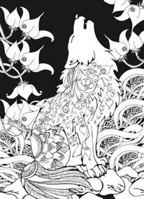 abstract wolf coloring pages howling wolf coloring page coloring coloring worksheets