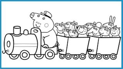 Buku Peppa Pig mewarnai peppa pig coloring movieandvideo