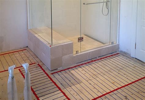 radiant heat for bathroom heated bathroom floors an economical and environmentally