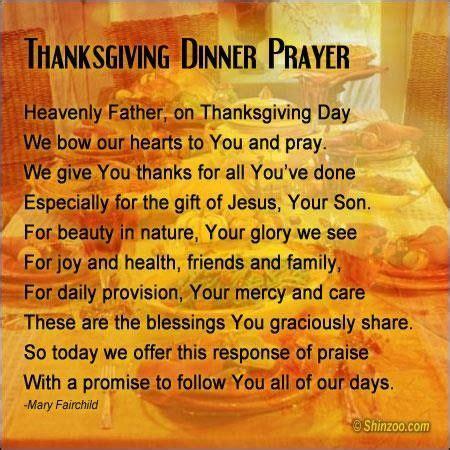 thanksgiving prayers for dinner table thanksgiving prayer 6 wordsonimages