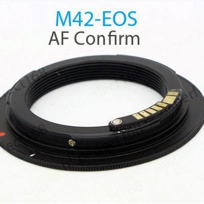 m42 to canon emf adapter, with focus confirm | soviet