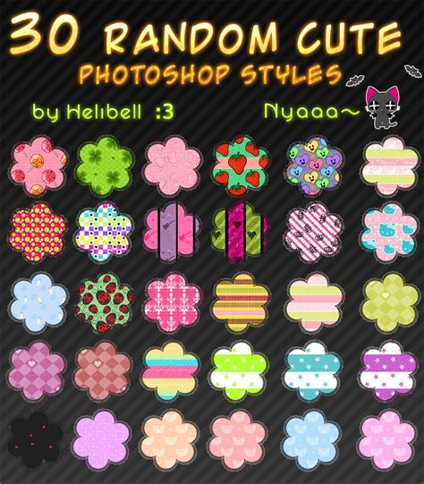 cute pattern set random cute pattern set 1 by helibell on deviantart