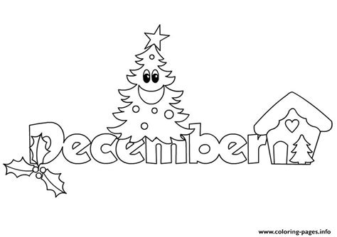 december coloring pages december 2 coloring pages printable