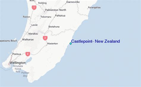 castlepoint  zealand tide station location guide