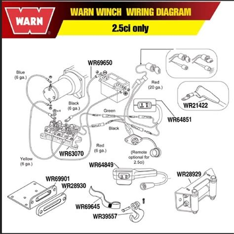 warn atv winch wiring diagram wiring diagram and
