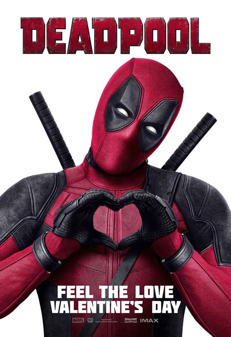 deadpool poster uk trailer and imax featurette for deadpool