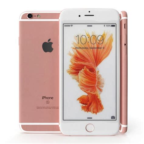 apple iphone 6s gold 3d model cgtrader