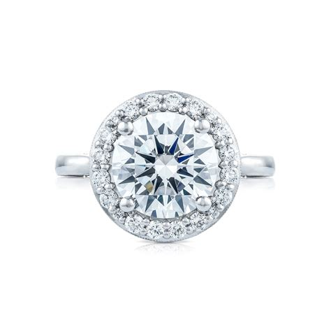 Tacori Engagement Rings tacori royalt collection ht2651rd95 bloom