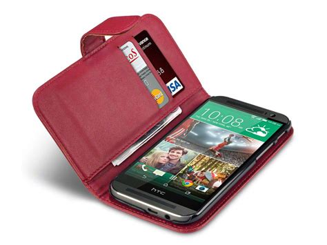 Bmw For Htc One M8 qubits wallet hoesje voor htc one m8