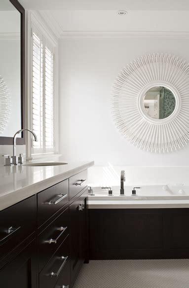 espresso vanity contemporary bathroom jennifer worts